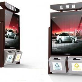 专业生产广告垃圾箱太阳能广告垃圾箱厂家垃圾箱广告牌厂家