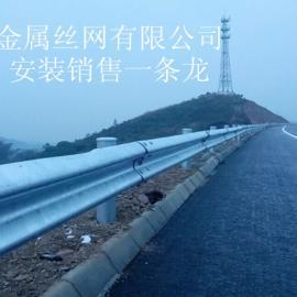 四川锌钢波形护栏 波形防撞护栏板 交通护栏板