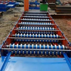 彩钢瓦双层压瓦机带手拉刀高配置