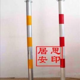 居思安警戒标志杆可反光耐腐蚀
