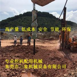 郑源机载大力度岩石分裂机力大5000吨