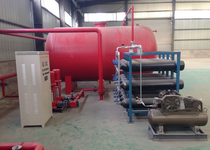 气体顶压供水设备,消防气体顶压设备
