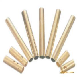 供应高品质H62黄铜管,拉花矩形管生产出售,价格合理有保障