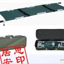 居思安铝合金折叠担架采用高强度铝合金