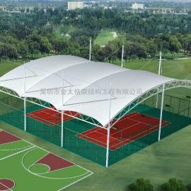 篮球场膜结构