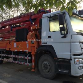 重汽31米混泥土泵车