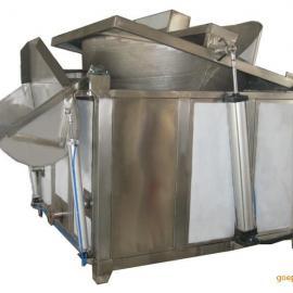 小鱼仔半自动电加热油炸锅