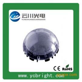 珠点面罩圆形直径150mm七彩光6WLED点光源