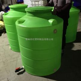 阜宁1吨650口径环保水箱IBC方形塑料桶堆码桶