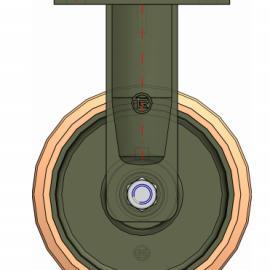 供应重载�f向�,叉车平衡轮,tellure rota意大利�f向�