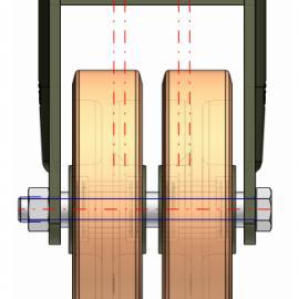供应重载�f向�,工业用轮 ellure rota意大利�f向�