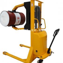厂家半电动堆高车400kg升高2.5米定制抱夹型纸筒堆高车