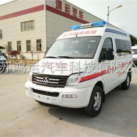 上汽大通V80短轴救护车厂家直销监护型救护车价格
