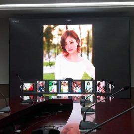 LED大屏幕3D工作原理 3D室�热�彩�@示屏�O�涠嗌馘X一套