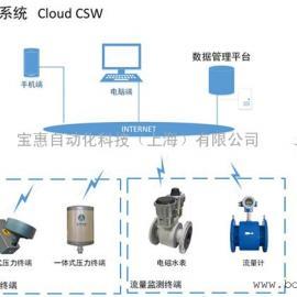供水管网压力流量水质噪声监测系统