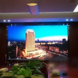 会议室4乘2米LED高清闪现屏装P2全彩大提要多少钱