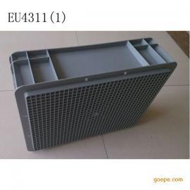 上海丰田专用物流箱 欧标EU4311汽配周转箱