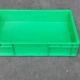 上海蓝色欧标物流箱EU4611周转箱