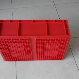 上海蓝色汽配物流箱EU4316周转箱