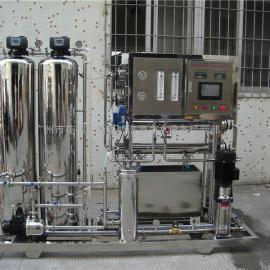 全自动纯水设备专用小型水处理设备双级反渗透纯净水设备供应