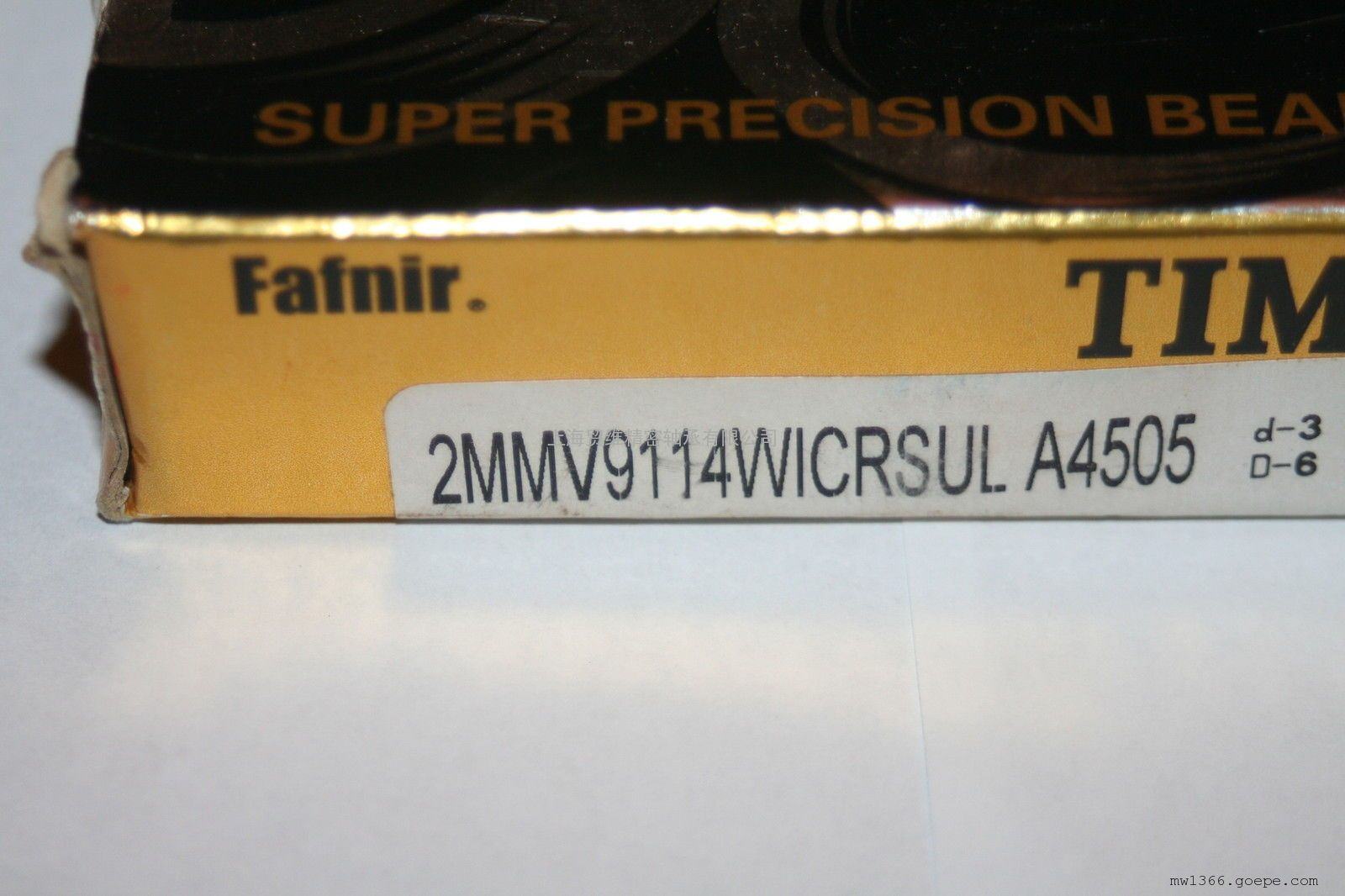 美国FAFNIR轴承代理商 9319WI