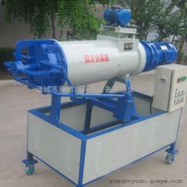 固液别离机 本行处理养殖便污水处理设备 单螺旋脱水机
