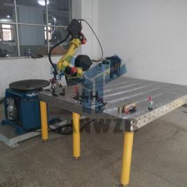 机器人培训工作站/机器人焊接工装夹具/机器人焊接工作站