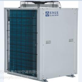 苏净安发空气源热泵采暖工程