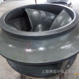 石灰石-石膏湿法脱硫浆液循环泵叶轮维修