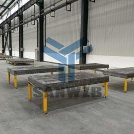客车车架组对工装/全承载车架组对工装夹具/柔性工装夹具