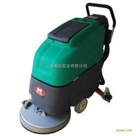 厂家直销电动手推式洗地机 移动式大型洗地机 保洁用洗地机