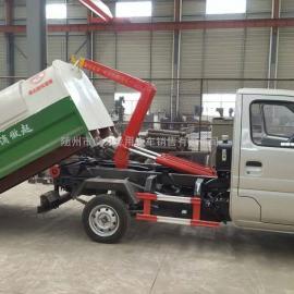 长安3方(3吨)小型勾臂式垃圾车价格