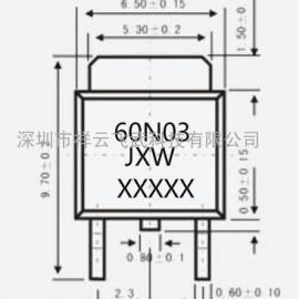 台湾APS 60A 30V 贴片中低压MOS