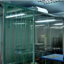 科来创供应gzkc-jjp100型洁净棚 实验室百级洁净棚 PVC防静电垂帘