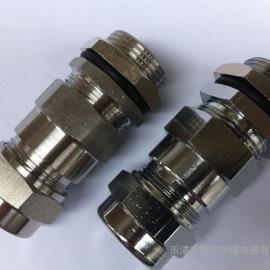 碳钢材质BDM11-32*1.5防爆电缆夹紧密封接头