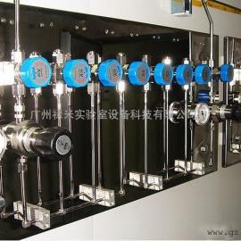 实验室气体管道工程 不锈钢管道 针阀 高压球阀 三通 接头