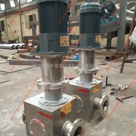 西安市政污泥切割机选型 大型污泥切割机 推荐污泥泵型号
