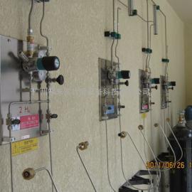 实验室集中供气 实验室专用设备 防爆气瓶柜 实验室气路定制
