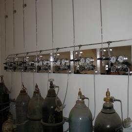 广州实验室气路 实验室供气系统 气路系统配套全钢气瓶柜