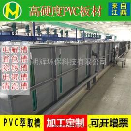 江西pvc萃取槽设计制作生产厂家