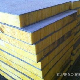 网格布岩棉复合板