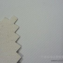 0.55MM白色挺括手感较硬不含滑石粉无毒高档橡胶围裙布