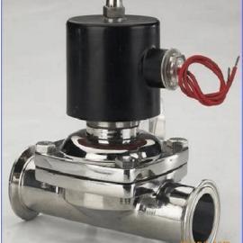厂家提供不锈钢、卫生级,食品级电磁阀