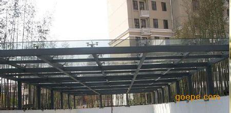 河源市钢结构阳光雨棚,钢结构厂房安装制作厂家