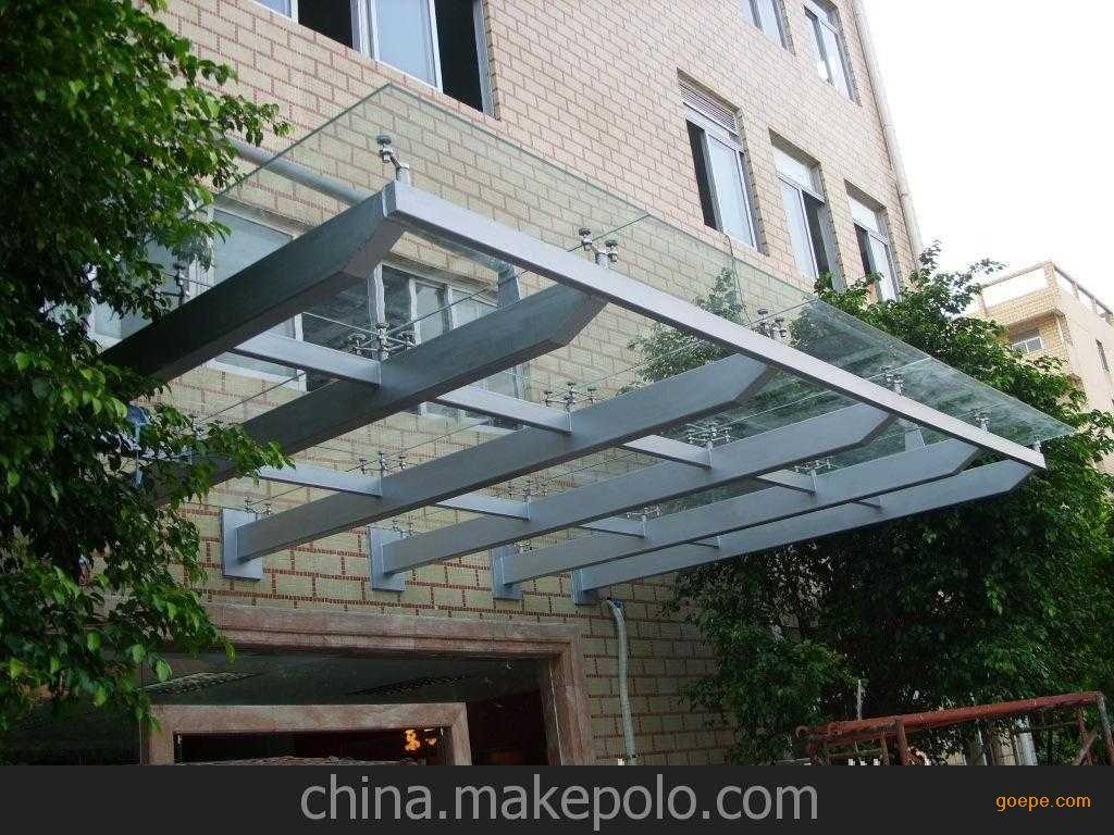 广州市钢结构阳光雨棚加工订制安装厂家