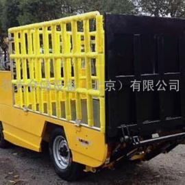 电动牵引车 电动搬运车 四轮围栏式蓄电池搬运车 北京电瓶车