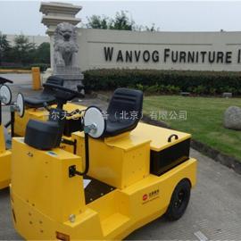 厂家供应电动牵引车6吨电动牵引车 座驾式电动牵引车拖车挂车