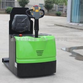 北京3吨电动牵引车 站驾式牵引车小型电动牵引车牵引挂车配件
