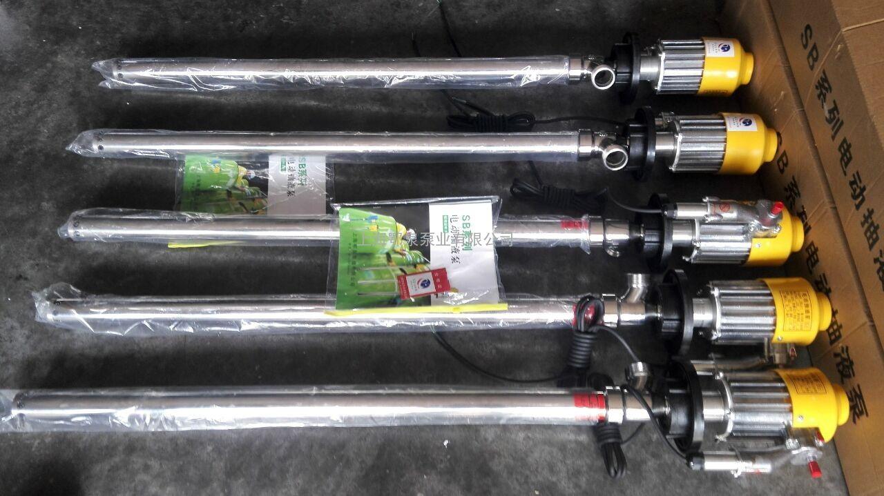 SB-3-316L电动抽液泵