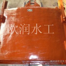 供应铸铁闸门,尺寸1*1米铸铁方闸门